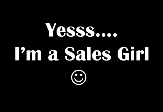 sales girl